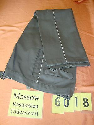 Uniformhose 1 St Uniform Hose K 48 Bundhose grau grün mit Streifen    6018
