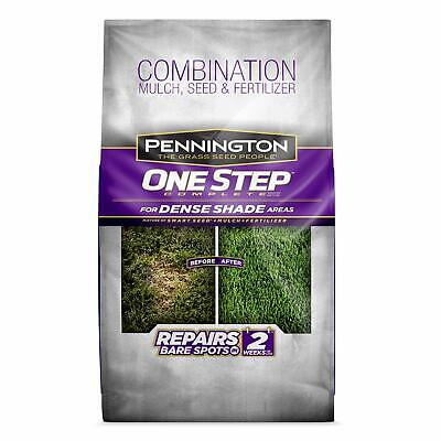 One Step Complete Bare Spot Repair Grass Seed Mix for for Dense Shade Areas,