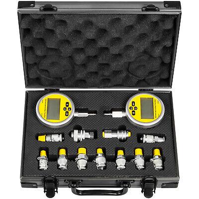 Hydraulic Pressure Test Kits 700bar Digital For Caterpillar Komatsu Excavator