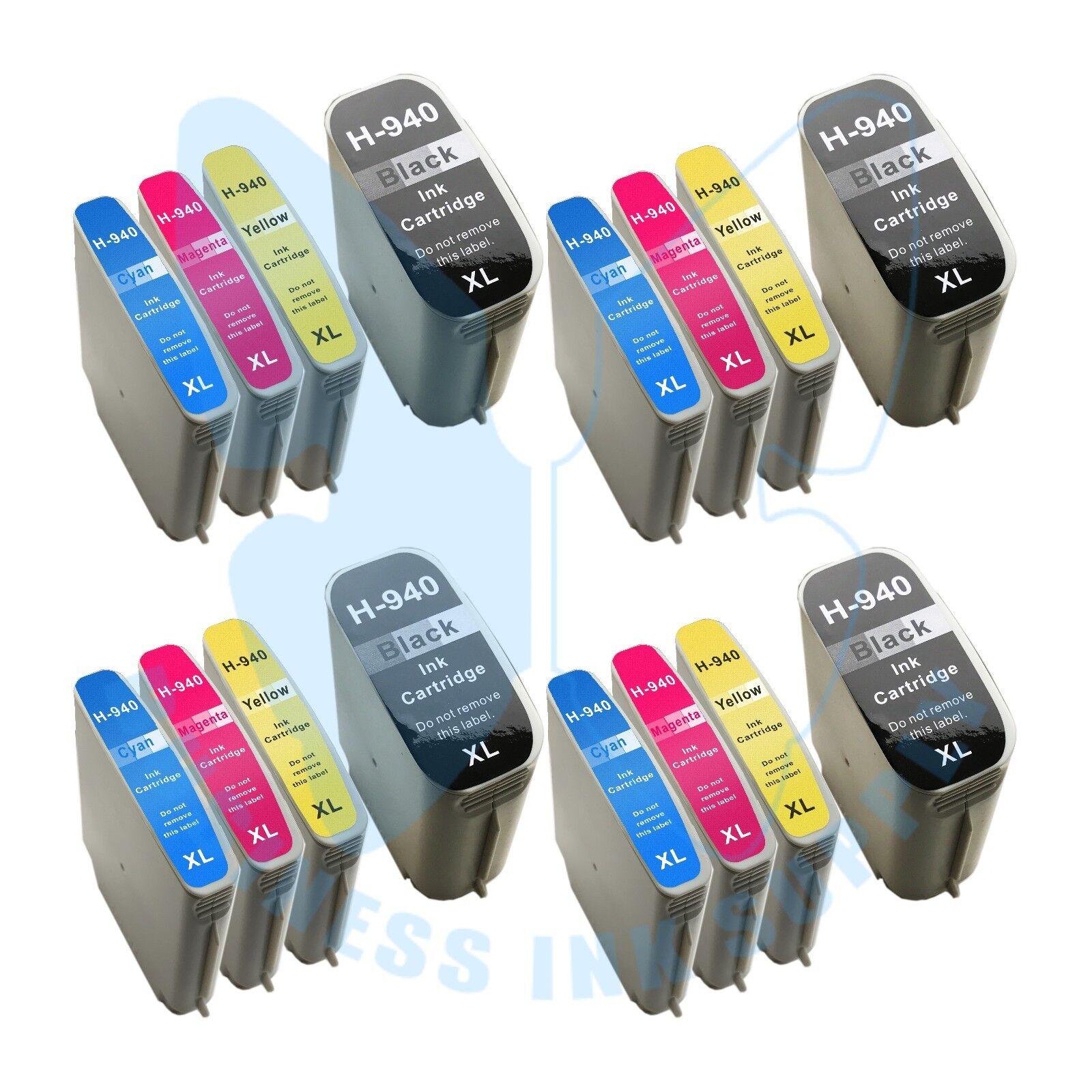 16 Pk 940xl 940 Ink Cartridges For Hp Officejet Pro 8000 ...