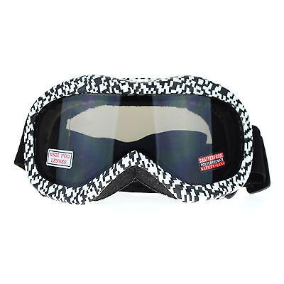 - Ski Snowboard Goggles Anti Fog Shatter Proof Lens Digital Pixel Print