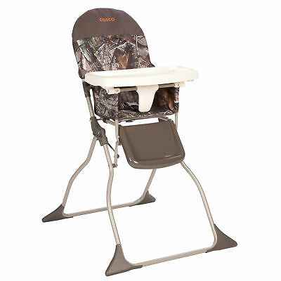 Cosco Baby Toddler High Chair Folding Portable Kid Eat Padded Seat Realtree - Camo High Chair