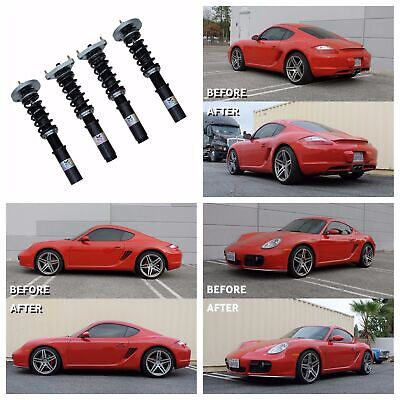 MEGAN RACING TRACK SERIES COILOVER DAMPERS KIT FOR 06-12 PORSCHE 987 (Megan Racing Track Coilovers)