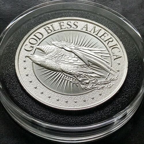 Qanon – Where We Go One, We Go All 2 Oz 999 Pure Silver Limited Mintage Eagle