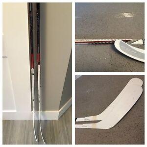 2 RBZ Revolution RH hockey sticks