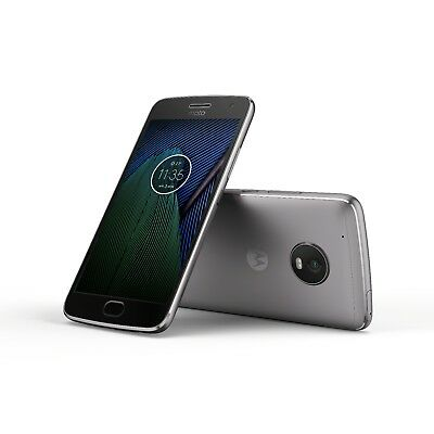Moto G5 Plus by motorola 32/64GB GSM/CDMA factory unlocked smartphone gray gold