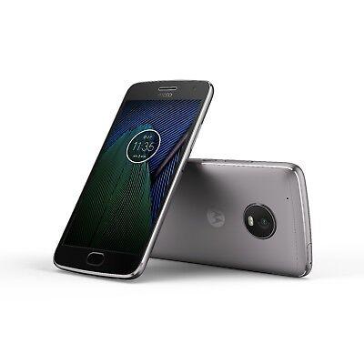 Moto G5 Plus by motorola 32/64GB GSM/CDMA factory unlocked smartphone gray gold