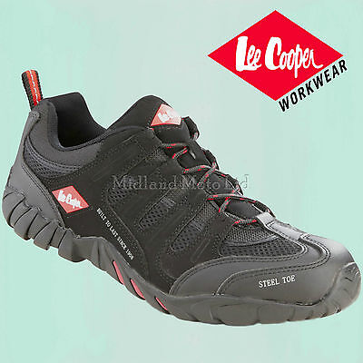 Lee Cooper Steel Toe Cap Safety Trainer. The Best Shoe, Boot. Size 3 - 12,