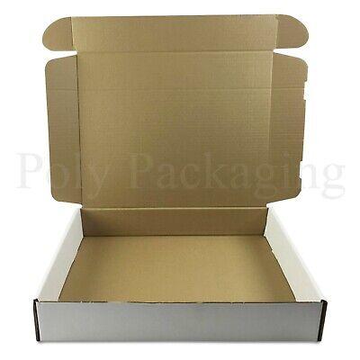 10 x WHITE Posting Boxes 419x338x72mm(16.5x13x3