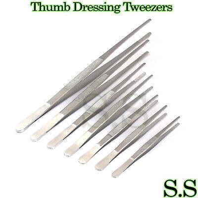 Stainless Steel Tweezers Set Of 7 Pieces