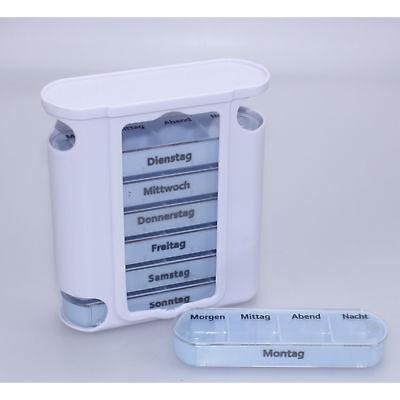 Pille Medikament Box (Medikamentendosierer Tablettenbox Pillendose Pillenbox Medikamentenbox 7 Tage)
