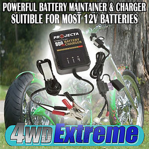 BATTERY-TRICKLE-CHARGER-12VOLT-12V-MOTORBIKE-JET-SKI-DIRT-BIKE-HARLEY-GSXR-AC150