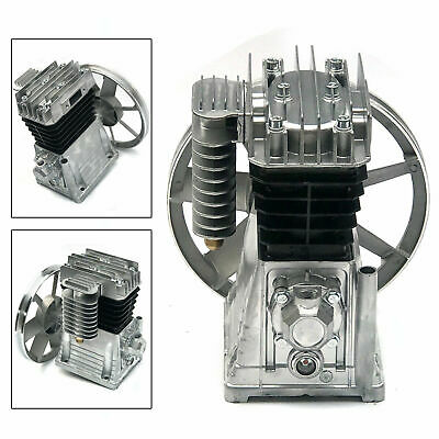 Oil Lubricated Air Compressor Pump Motor Head 3hp Piston Style Heat Dissipation