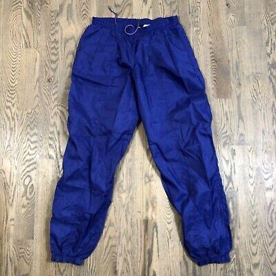 Vintage Nike Windbreaker Pants Purple Size Medium Nylon Track Gym
