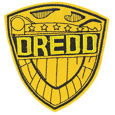 Judge Dredd Logo Iron On Patch Sew Sci Fi Badge Costume Cosplay Movie Film Comic](Judge Dredd Cosplay Costumes)