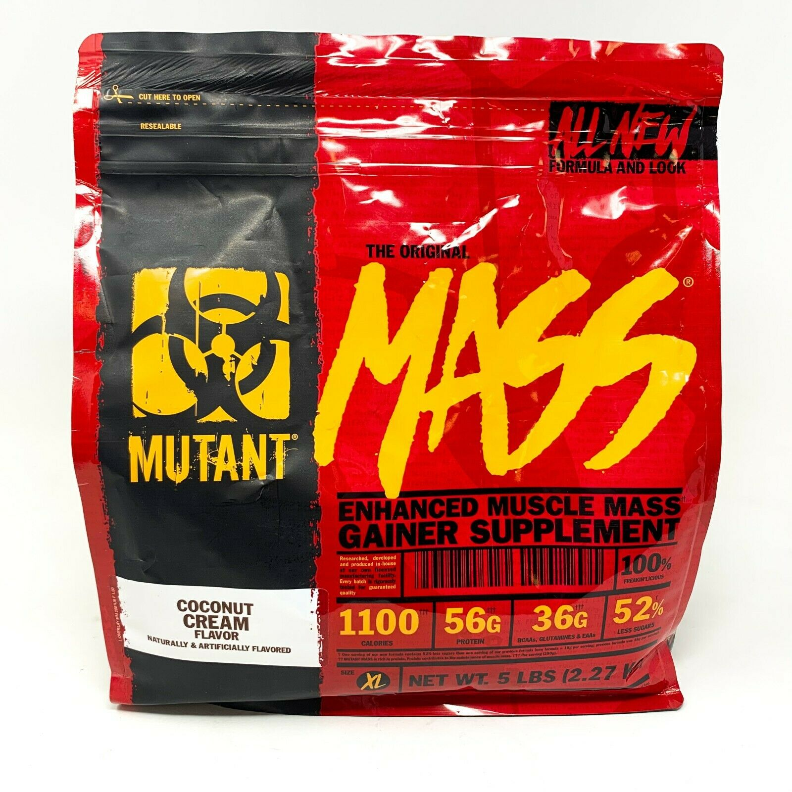 Mutant MASS 5lb Lean Weight Gainer Post-Workout Protein Powd