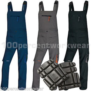 2x-Delta-Plus-Panoply-M2SAL-Work-Bib-and-Brace-Overalls-Dungarees-FREE-KneePads
