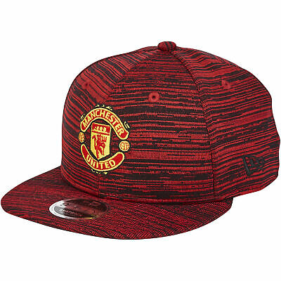 Manchester United New Era 9FIFTY Engineered Snapback Cap Hat Scarlet Adult