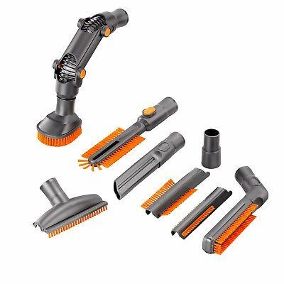 VonHaus 8 pc Universal Vacuum Cleaner Accessory Set - Crevice Tool, Brush