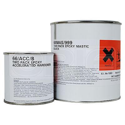 Bilt Hamber Epoxy Mastic - Black - 1 Litre 1L