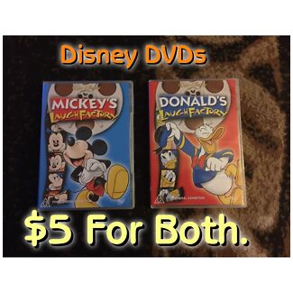 Mickey and Donald's Laugh Factory Disney DVDs (Pickup Wallsend)