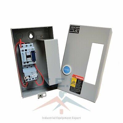 Reversing Motor Starter 10 HP @ 460-480V 12-18 Amp Overload 24VAC Coil 480 Volt