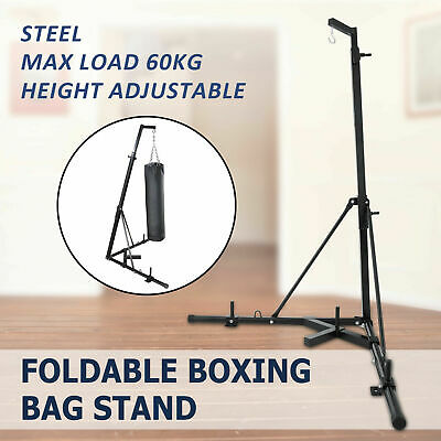 Foldable Boxing Bag Stand Heavy Punching Home Exercise Punching Kick BEST