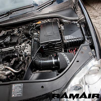 Ramair Cone Air Filter Heat Shield Induction Intake Kit - Golf mk5 2.0TDI GTD