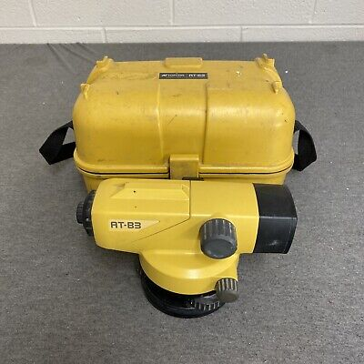 Topcon At-b3 28x Autolevel Automatic Auto Level Transit With Carrying Case