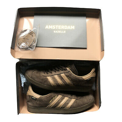 Adidas Gazelle Amsterdam GTX Gortex UK 8 USED Box And Cards Mint Cond