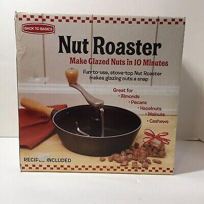 Back To Basics Dishwasher Safe Dishwasher (Back to Basics Nut Roaster for Stove Top Glazed Nuts in 10)