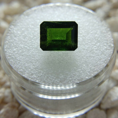 Chrome Green Russian Diopside Loose Gemstone Octagon 2.48 ct.