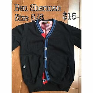 Ben Sherman boys sweater, EUC