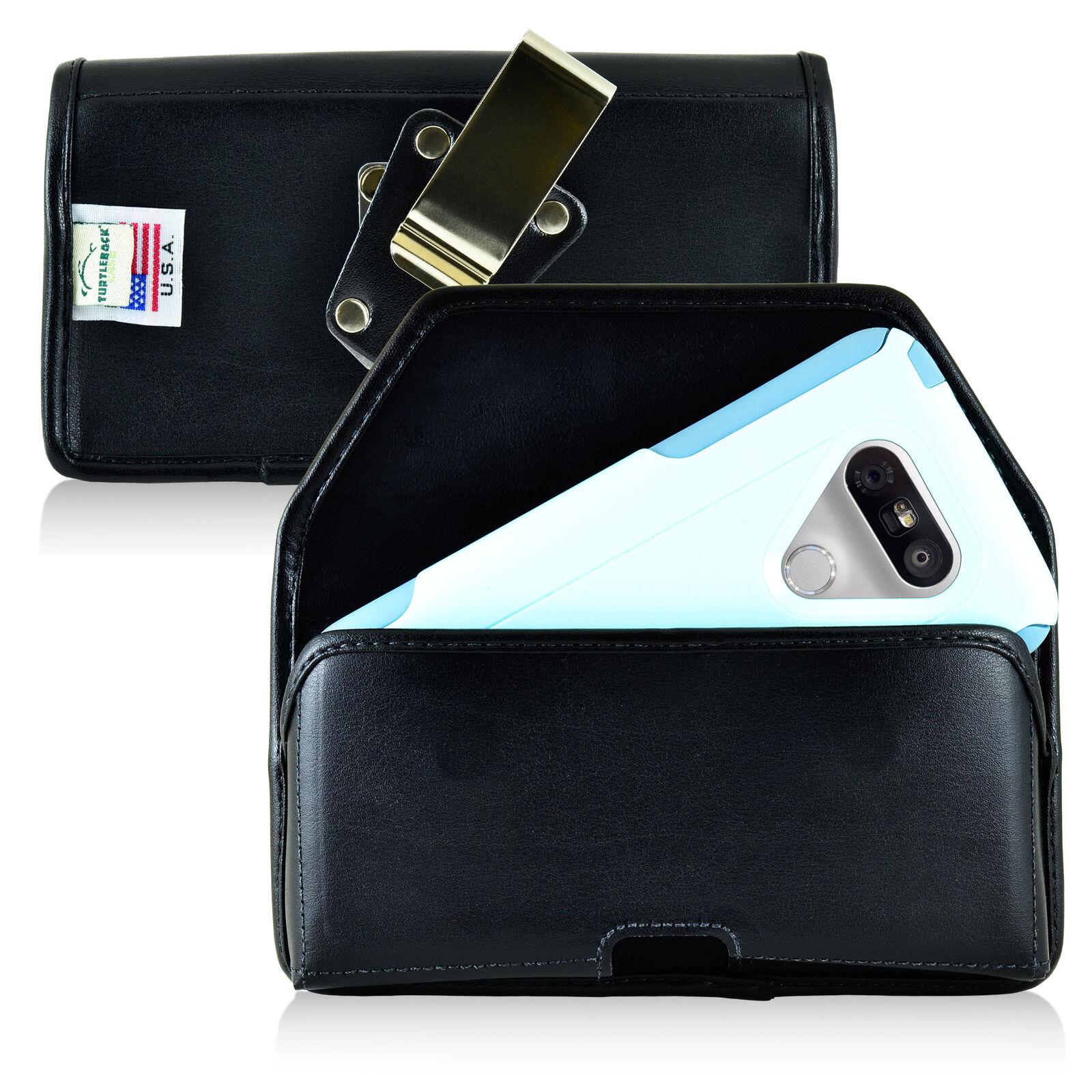 turtleback-lg-g5-leather-black-holster-case-metal-clip-fits-otterbox-commuter