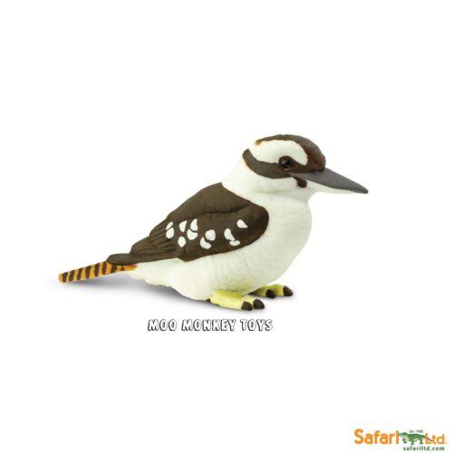 KOOKABURRA Safari Ltd # 151129  Wings of the World  Bird  REPLICA    NEW 2017