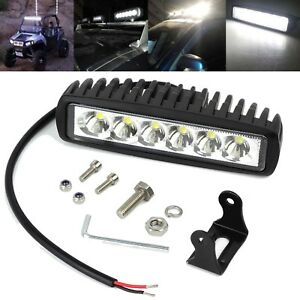 6LED Work Light Bar Spot Lights for Driving Lamp Offroad Car Truck SUV 18W