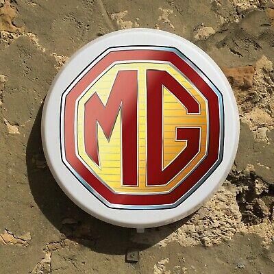 Mg 90-09 Led Wall Light Sign Logo Garage Vintage Automobilia Car Auto Mgf Rv8