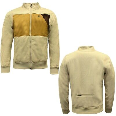 Nike ACG Therma Fit Zip Up Mens Jacket Beige Brown Fleece 345593 287 Y50B