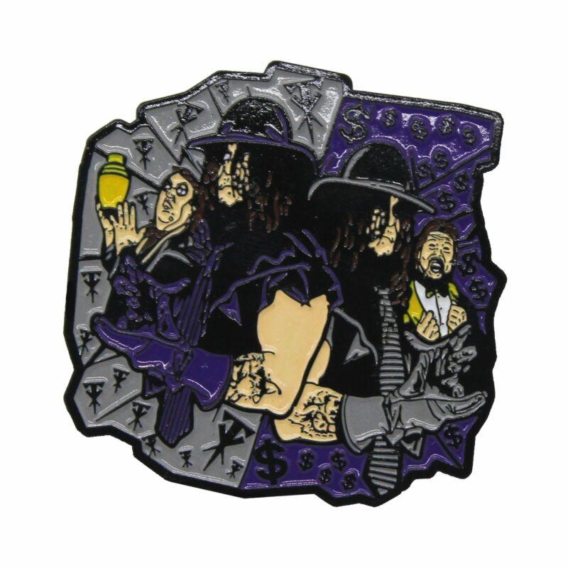 """Zobie Rasslin - Limited Edition 2"""" Enamel Lapel Pin - Undertaker"""