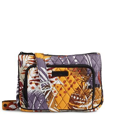 Vera Bradley Little Hipster Crossbody Bag in Painted Feathers