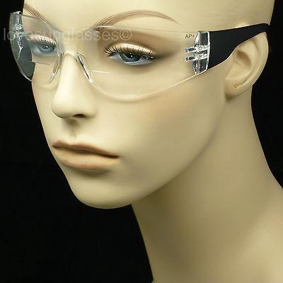 Bifocal Safety Reading Glasses Men Women Shooting Power Ansi Z87 Strength