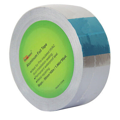Aluminum Foil Tape 3.2 Mil 2inches X 50 Yards Hvac Tape Work On Furnace Ac Ducts