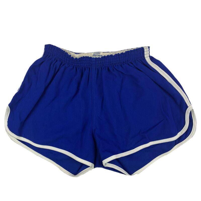 VTG 70s Sportswear Mens XL Shorts Running Jogging Sprint Track Gym Booty Striped