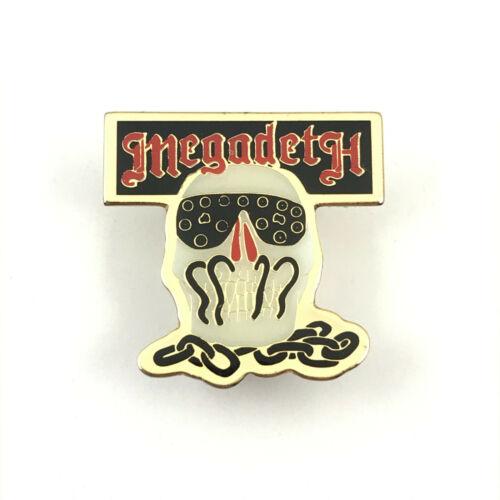 Megadeth pin  Official Brockum metal enamel vintage 90's