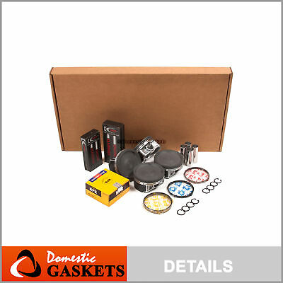 Full Gasket Pistons Bearings Rings Set Fit 04-06 Subaru TURBO DOHC EJ255 EJ257 Full Thrust Bearing Set