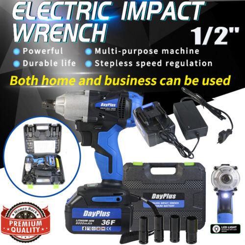 "Electric Impact Wrench 1/2"" Drive Cordless Rattle Gun DCF880"