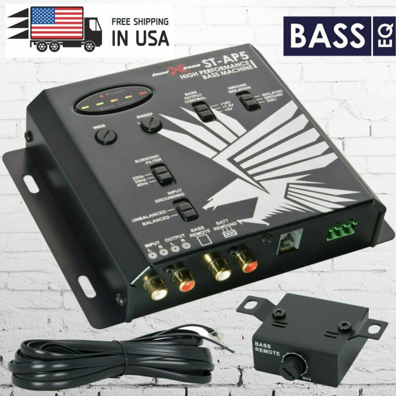 Soundxtreme Digital Bass Machine Processor Epicenter RECONSTRUCTION Bass Knob