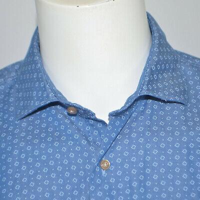 JOHNNIE-O Oxford Barclay Regular Fit Cotton Casual Shirt Sz L