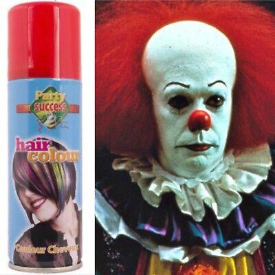 Clown IT Red Hair Colour Spray Halloween Hairspray](Red Hair Spray Halloween)
