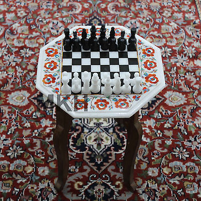 Special Discount Marble Chess Board Tournament Table Inlay Semiprecious -